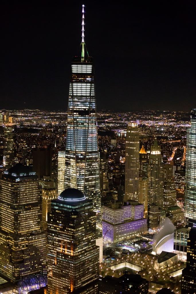 2017-11-27 Night, WTC Memorial